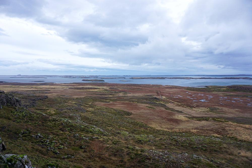 Brokey islands and its surrounding.