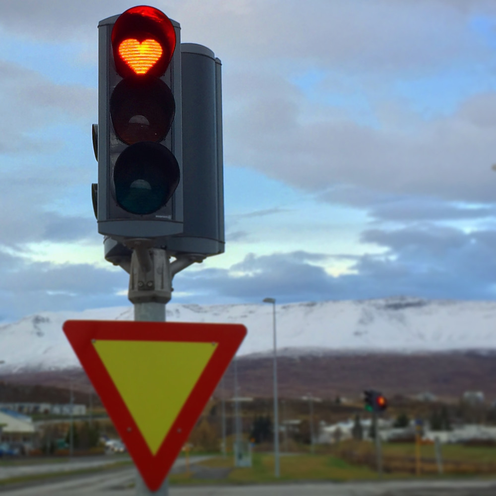 Lovely traffic light!