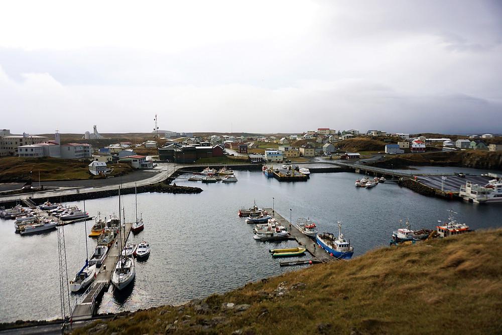 View over Stykkishólmur.