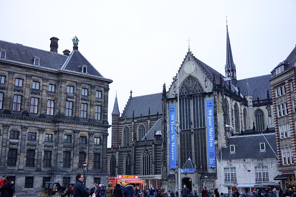 De Nieuwe Kerk church.