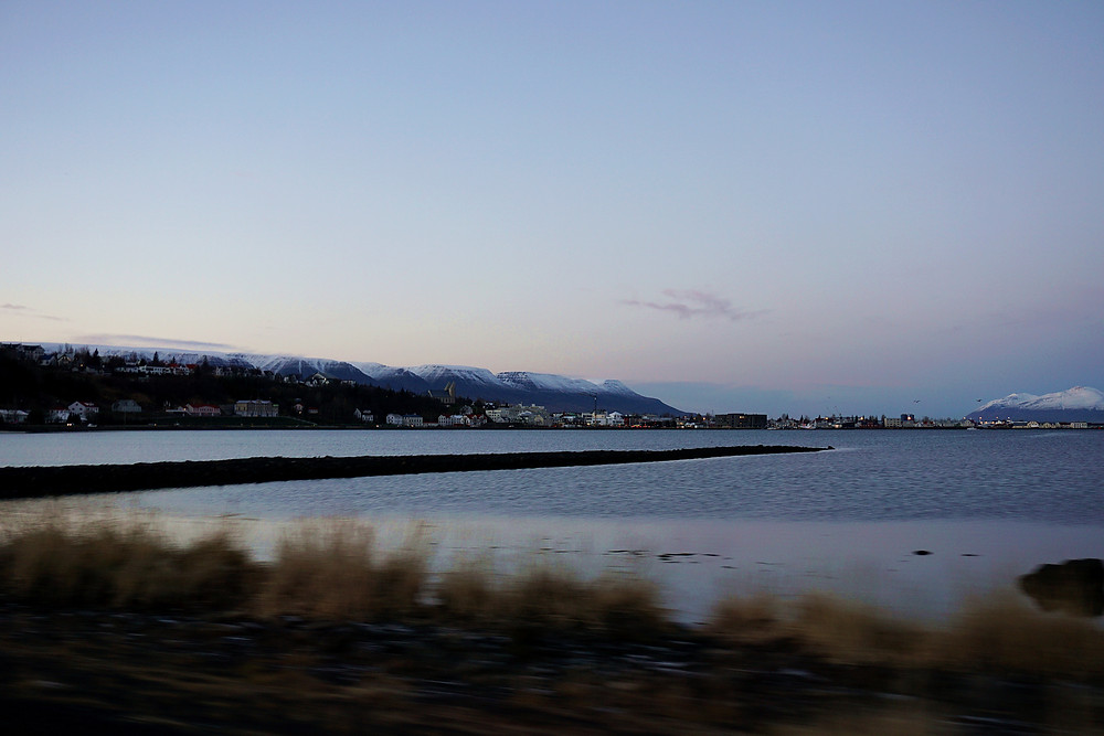 Pass by the fjord.