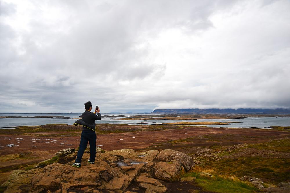 Taking panorama of Brokey. - Photo credited to Hybrid.