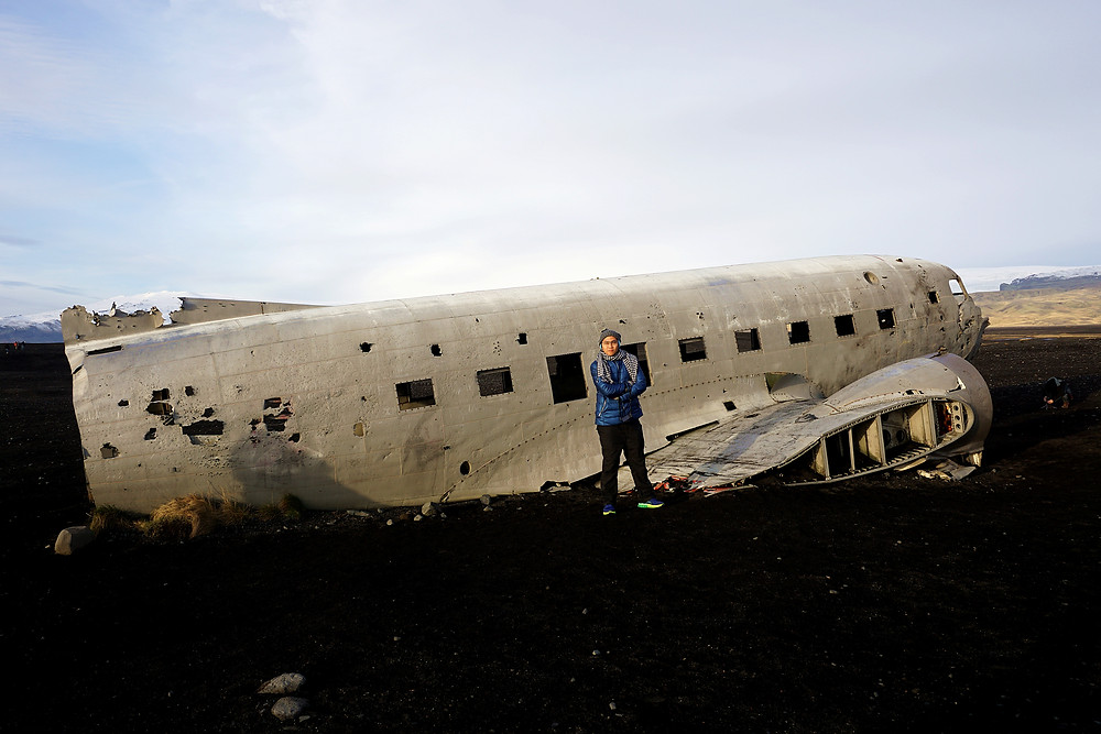 Gary with DC plane.