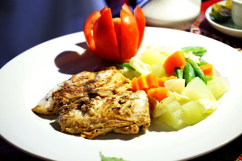 Chicken breast set.