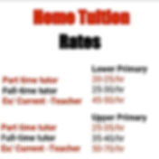 Reasonable Home Tuition Singapore Rates