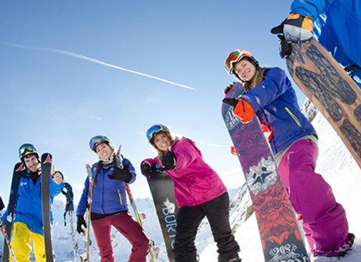 הדרכת סקי למתקדמים (למגיעים בשבת) 189€