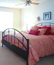 Steel Bed Headboard & Footboard
