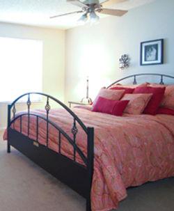 Steel Bed Headboard & Footboard