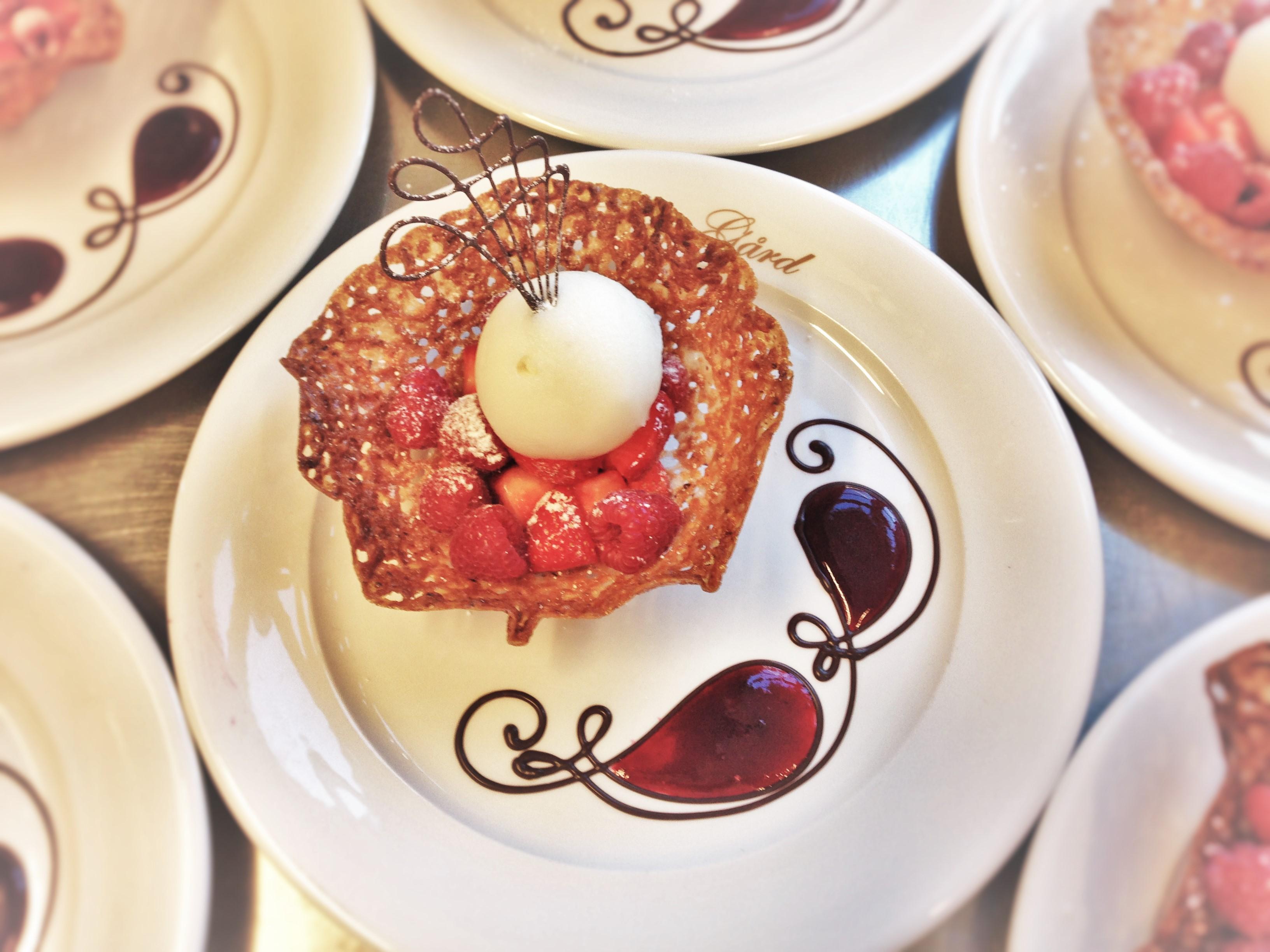 Dessert i Bryllup på Øvre-Eide Gård