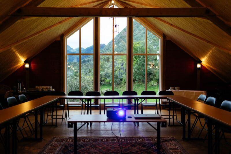 Kurs- og konferanselokale på gård