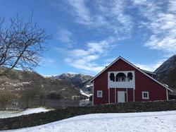 Låvebryllup på Øvre-Eide Gård i Bergen