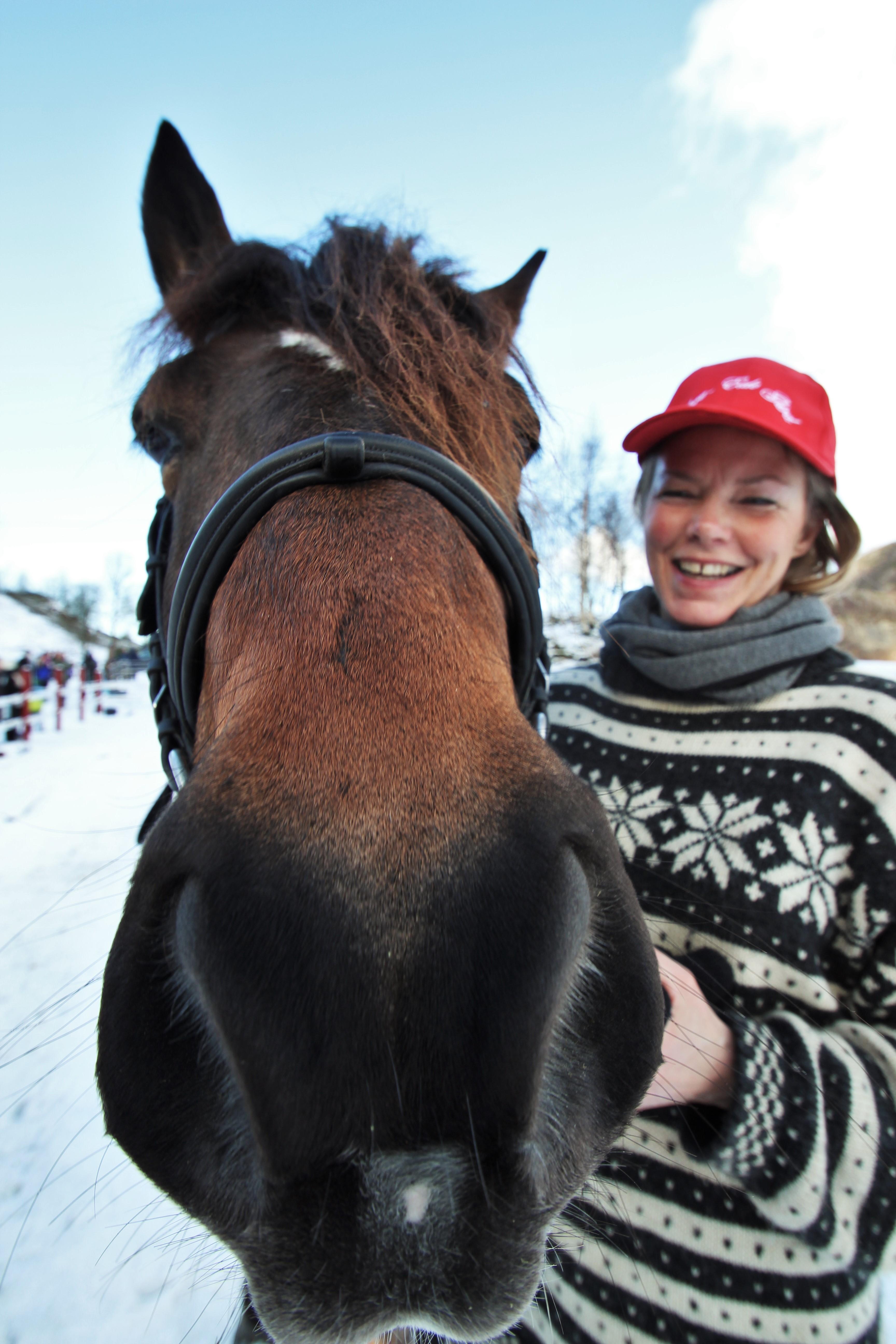 Hest er best på Øvre-Eide Gård