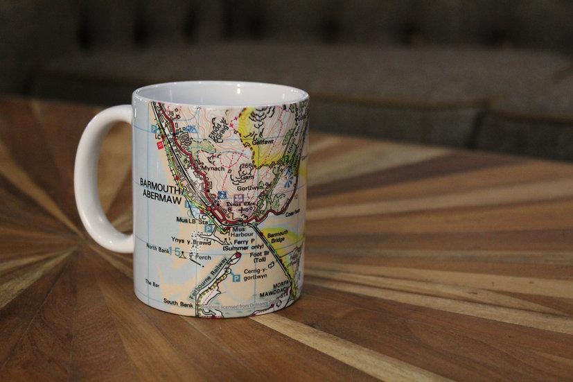 OS Map Design Mug