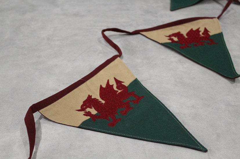 Welsh Flag Bunting