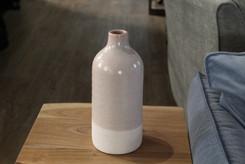 Duo Wide Vase River Salt Pieces for Plac