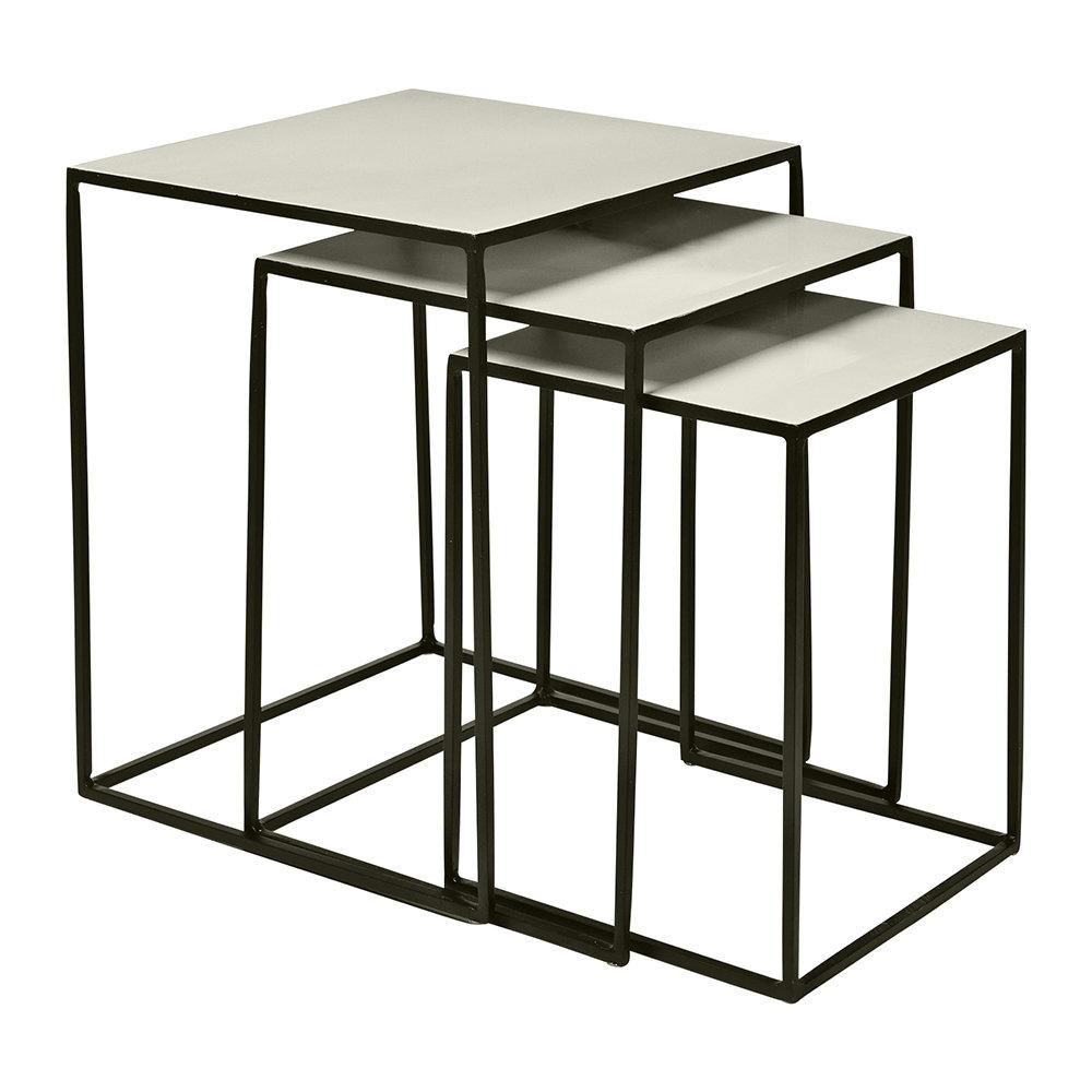 Freja Tables Black/Dove