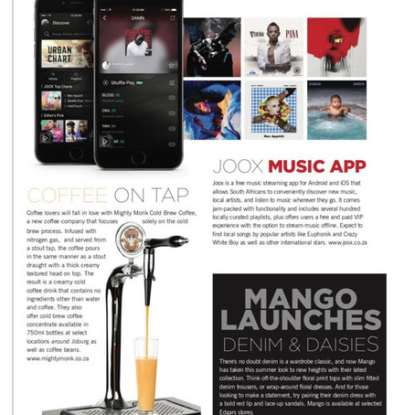SANDTON MAGAZINE FEATURE