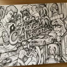 Hotel California, illustration