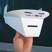 Thomas Bengalter Scratch Built Daft Punk Helmet