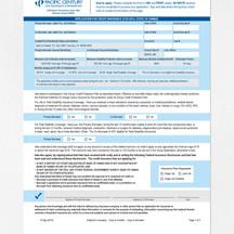 PDF Application Form