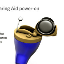 Hearing Aid Product Animation || Power-Up