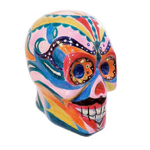 Calavera - Sugar Skull Painted Sculpture