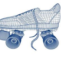 Roller Skate Model