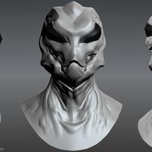 Grey Alien Sculpt