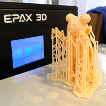 Pumpkin Mickey 3D Printed Figure