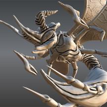 Murder Wasp Sculpt