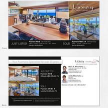 Luxury Real Estate Marketing Post Card