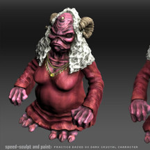 Aughra Character From The Dark Crystal