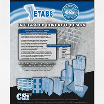 Software Advertising Display For A Civil Engineering Magazine