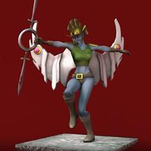 Gossamer Warrior Animation   Final