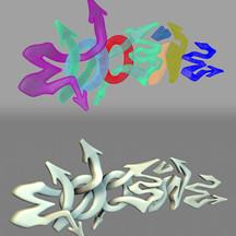 Hand Lettering / Graffiti Model