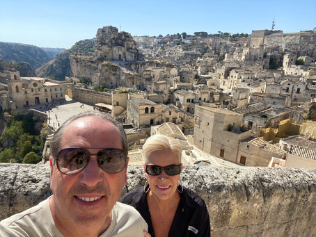 The Caves of Matera and the City of Alberobello