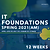 IT FOUNDATIONS AM (Spring 2021)