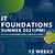 IT FOUNDATIONS PM (Summer 2021)