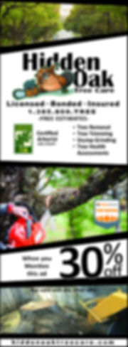 Hidden Oak Tree Care discount