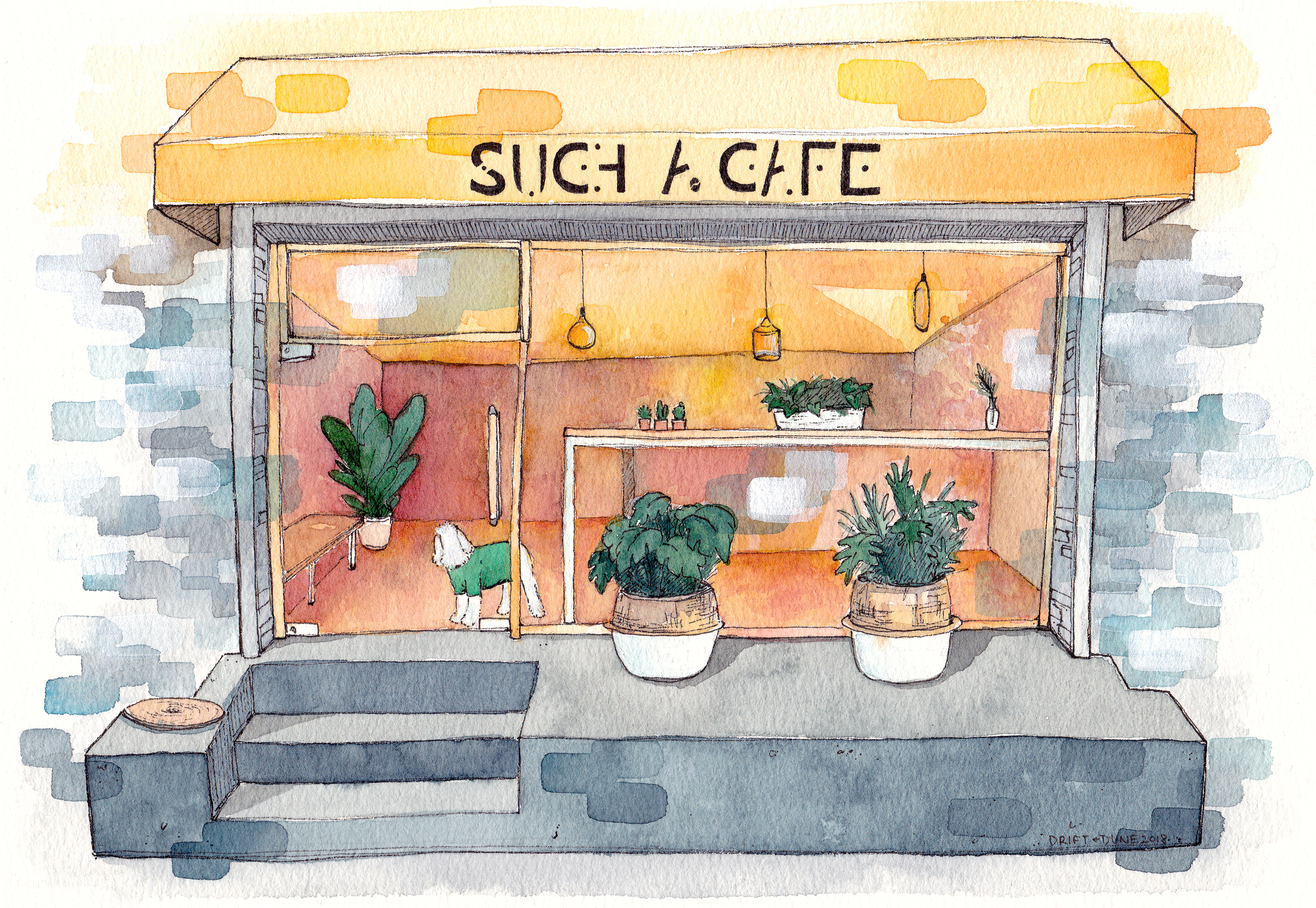 such a cafe