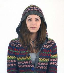Aimee in hoodie II