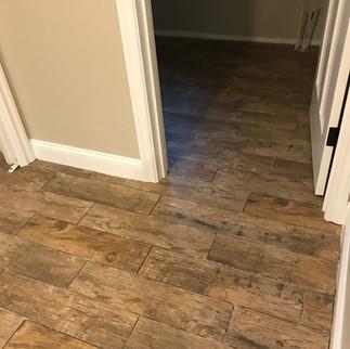 6 x 24 wood plank look porcelain tile .J