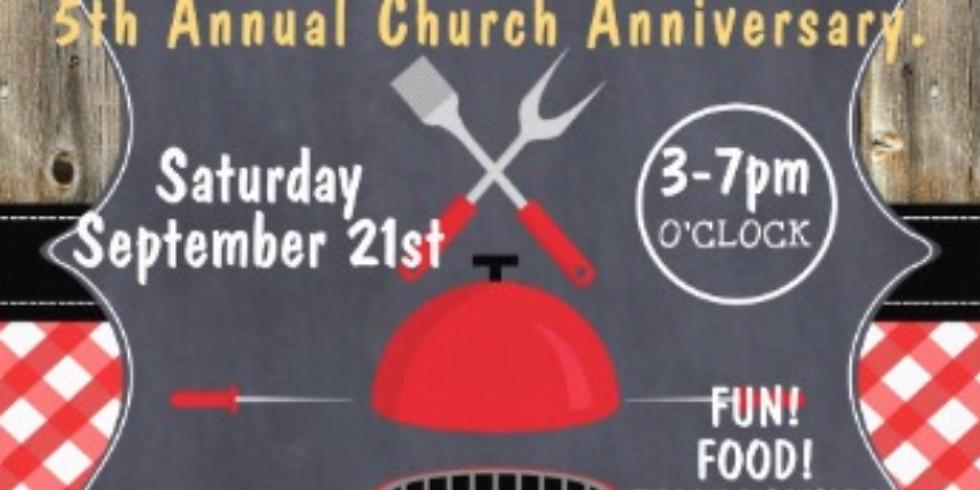 Annual Church Anniversary BBQ
