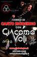 Corso di Canto Moderno con Giacomo Voli