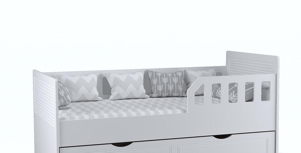 Klasik Karyola Beyaz 90x190