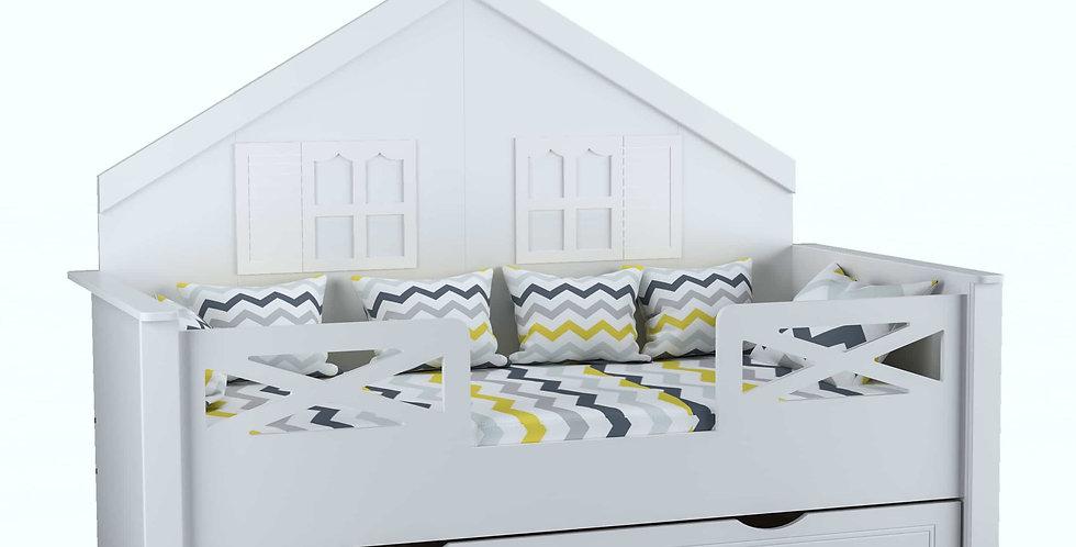 Ev Karyola Beyaz 90x190