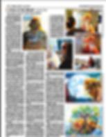 Sarasota News about Artist Nadja Marks-Shafton