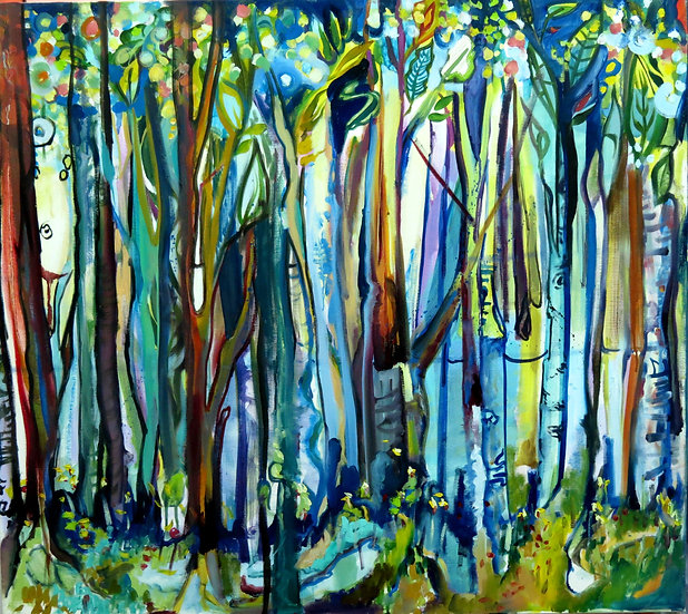 You Can't See the Forest for the Trees Giclee