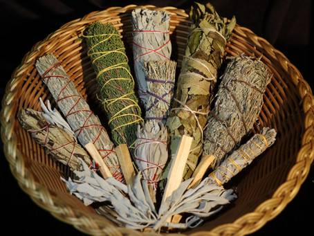 Smudging - Keeping your Personal and Home Vibrations High