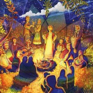 Gathering in the Garden (2)